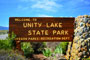 Unity Lake State Park Sign