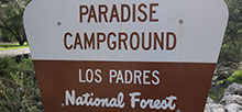 Paradise Los Padres National Forest