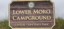 Crystal Cove State Park – Lower Moro