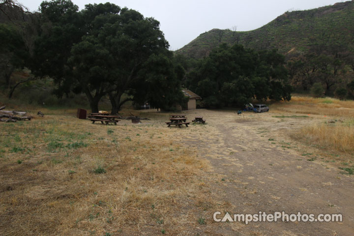 Malibu Creek State Park Group Camping Area View 1