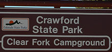 Crawford State Park Clear Fork