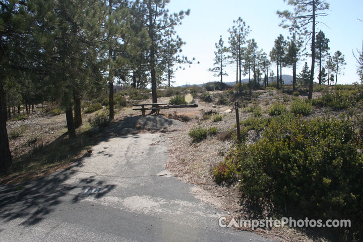 Chilao Campground Little Pines Loop 010