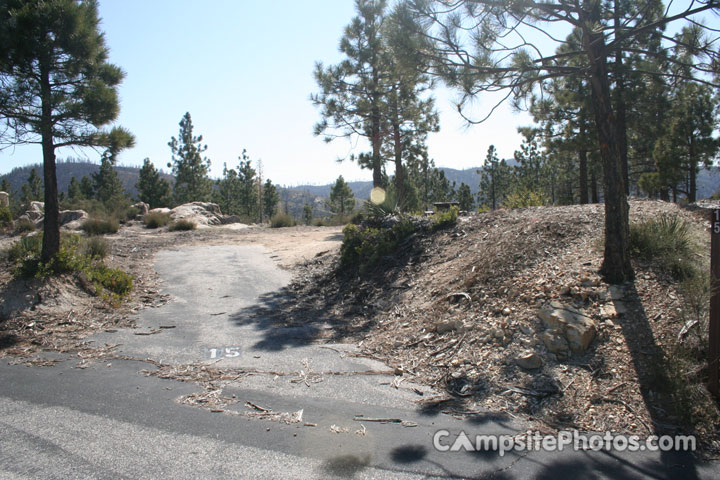 Chilao Campground Little Pines Loop 015