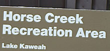 Horse Creek Recreation Area