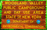 Woodland Valley Sign