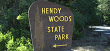 Hendy Woods State Park